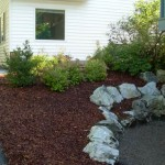 Alaska Commercial Landscaping Commercial Facility Mulch Groundcover - After