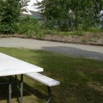 Alaska Commercial Landscaping Commercial Facility New Playground Installation and Landscape - Before