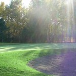 Alaska Commercial Landscaping Commercial Golf Course Installation for Gated Community - After A