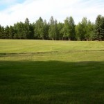 Alaska Commercial Landscaping Commercial Golf Course Installation for Gated Community - Before B