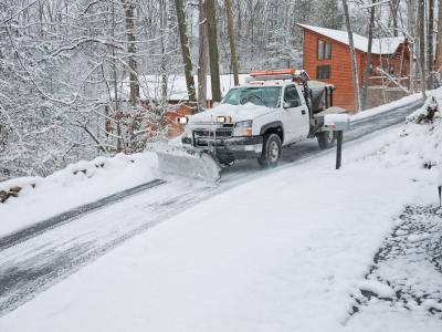 Snow Removal in Anchorage, Alaska