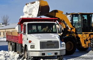 Commercial Snow Removal Alaska by Arctic Green LLC.