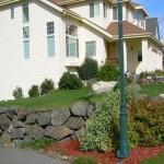 Alaska Residential Landscaping Residential Boulder Wall Retaining System