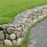 Alaska Residential Landscaping Residential Concrete Rock Wall Retaining System