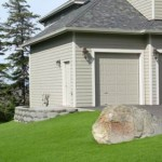 Alaska Residential Landscaping Residential Keystone Retaining Wall System with Steps - After A