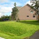 Alaska Residential Landscaping Residential New Lawn Establishment - Topsoil and Hydroseed