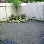 Alaska Residential Landscaping Residential Paver Patio w Tree Shrub and Groundcover Plantings